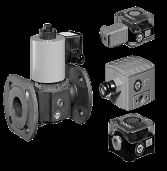 Biogas: Огляд асортименту продукції. Датчик-реле тиску і клапани Біогаз