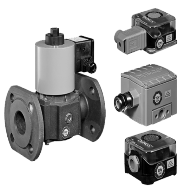 Biogas: Огляд асортименту продукції. Датчик-реле тиску і клапани Біогаз - Фото №1