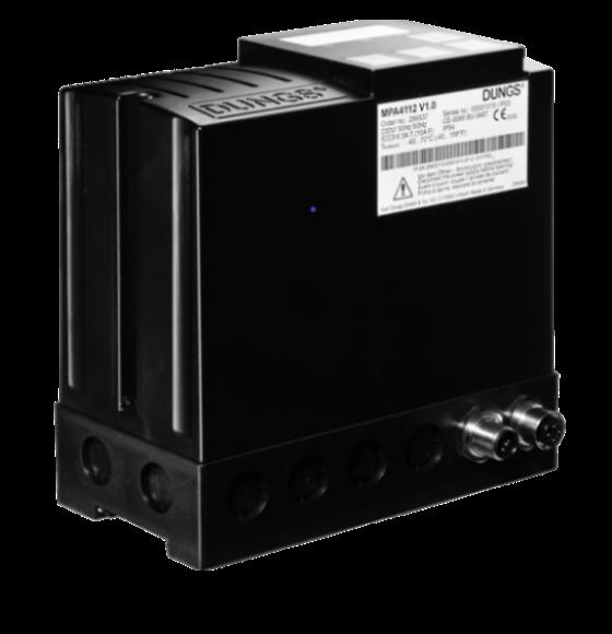 MPA 41xx: Топочный автомат для одноступенчатой газовой горелки.