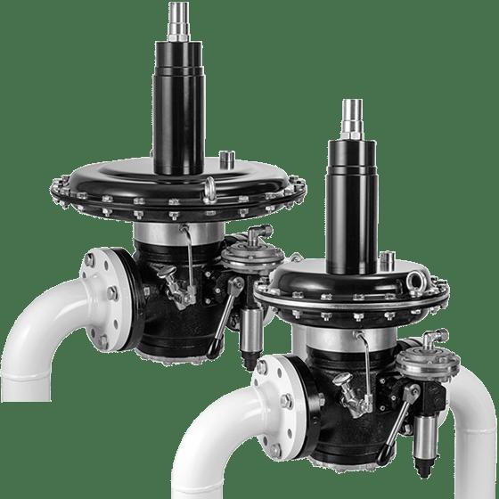 Регулятор среднего давления тип FRM 10… / SAV