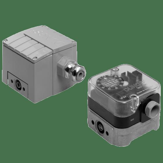 GGW, A4: Дифференциальный датчик-реле давления газа, воздуха, дымовых и отработанных газов - Фото №1