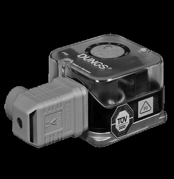 GW, A2, SGV: Версія для спеціального газу. Датчик-реле високого тиску газу і повітря