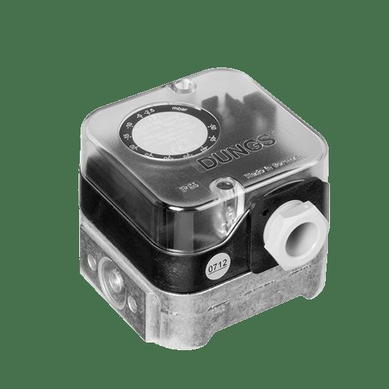 GW 500 A4: Датчик-реле тиску газу, повітря, димових і відпрацьованих газів - Фото №1