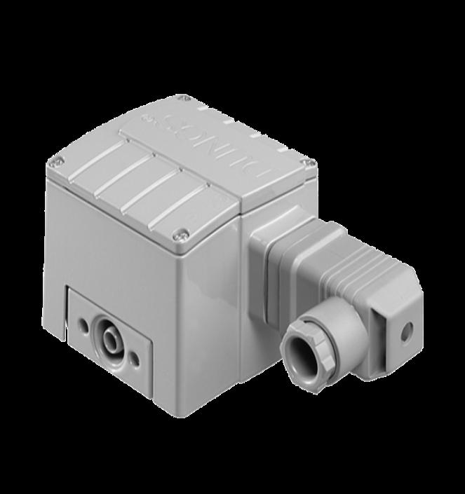 GW A4 HP SGS: Версія для спеціального газу. Датчик-реле високого тиску газу і повітря. Манометрический корпус. Нержавіюча сталь - Фото №1