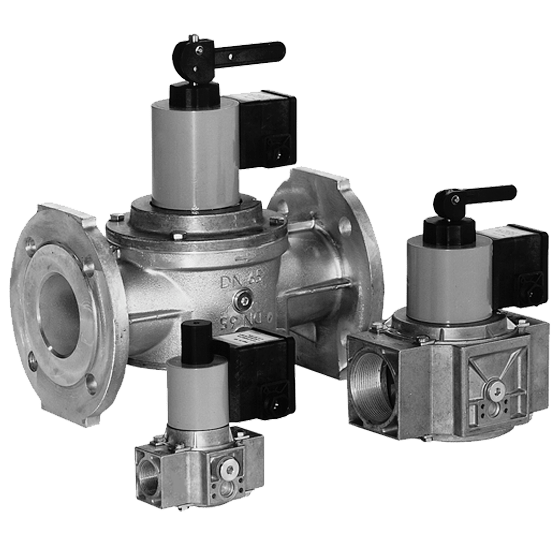 HSAV 1507: Электромагнитный запорный клапан с ручным управлением - Фото №1