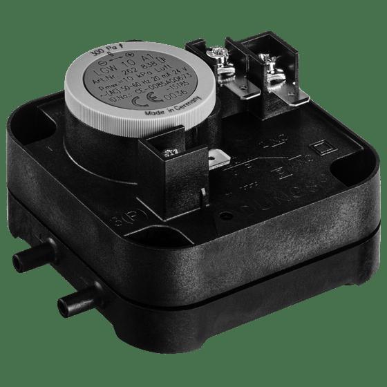 LGW A1: Диференціальний датчик-реле тиску повітря, димових і відпрацьованих газів. Налаштування на заводі - Фото №1