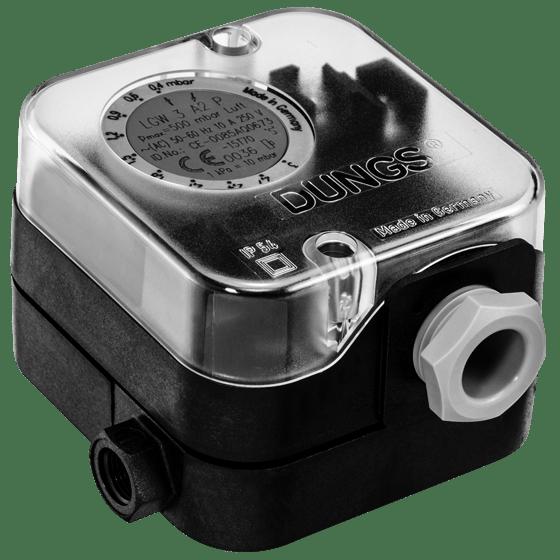 LGW A2-LGW A2P-LGW A2-7: Диференціальний датчик-реле тиску повітря, димових і відпрацьованих газів - Фото №1