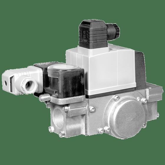 MBC-65/120: GasMultiBloc® (газовий мультиблок), модуль регулювання і безпеки, одноступінчатий режим експлуатації - Фото №1
