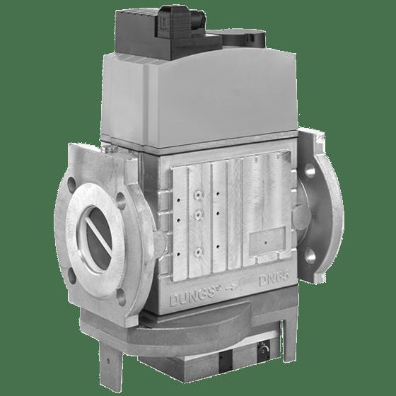 MBC-SE: GasMultiBloc® (газовий мультиблок), модуль регулювання і безпеки, серворегулятор тиску