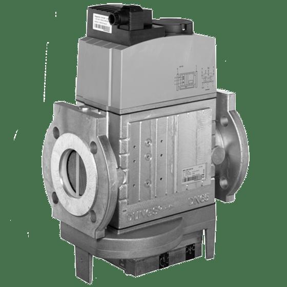 MBC-VEF: GasMultiBloc® (газовий мультиблок), модуль регулювання і безпеки, безступінчатий плавний режим експлуатації