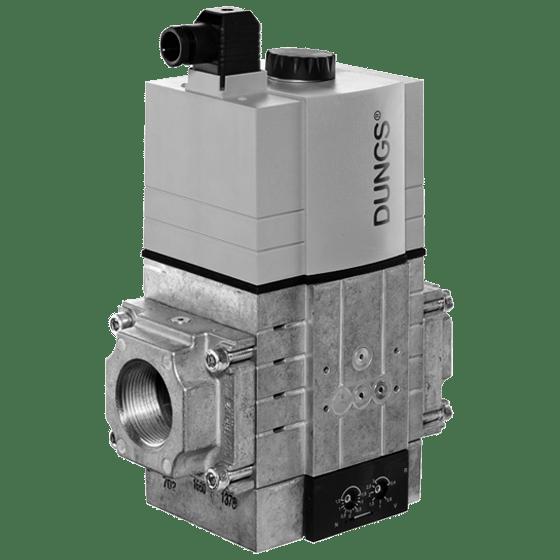 MBC-300/700/1200-VEF: GasMultiBloc® (газовий мультиблок), модуль регулювання і безпеки, безступінчатий плавний режим експлуатації - Фото №1