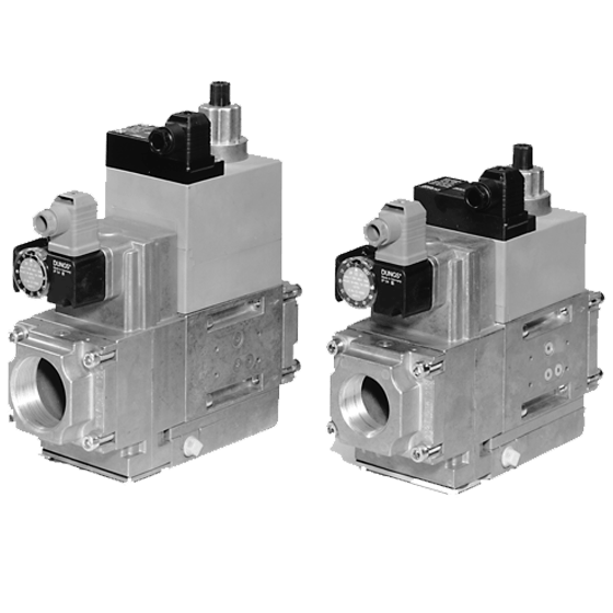 MB-D (LE) 415-420 B01: GasMultiBloc® (газовий мультиблок), модуль регулювання і безпеки, одноступінчатий режим експлуатації - Фото №1