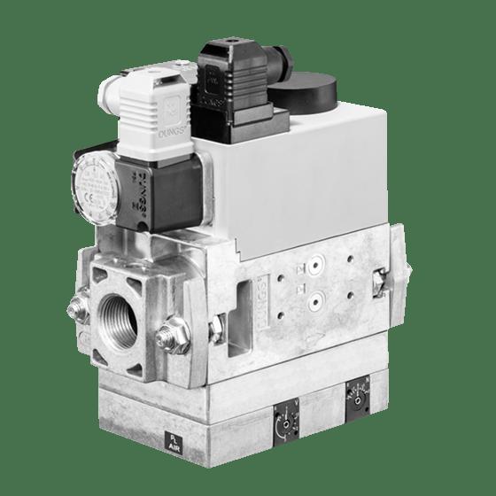 MB-VEF 407-412 B01: GasMultiBloc® (газовий мультиблок), модуль регулювання і безпеки, безступінчатий плавний режим експлуатації