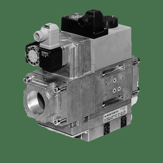MB-VEF 415-425 B01 S10/30: GasMultiBloc® (газовий мультиблок), модуль регулювання і безпеки, безступінчатий плавний режим експлуатації - Фото №1