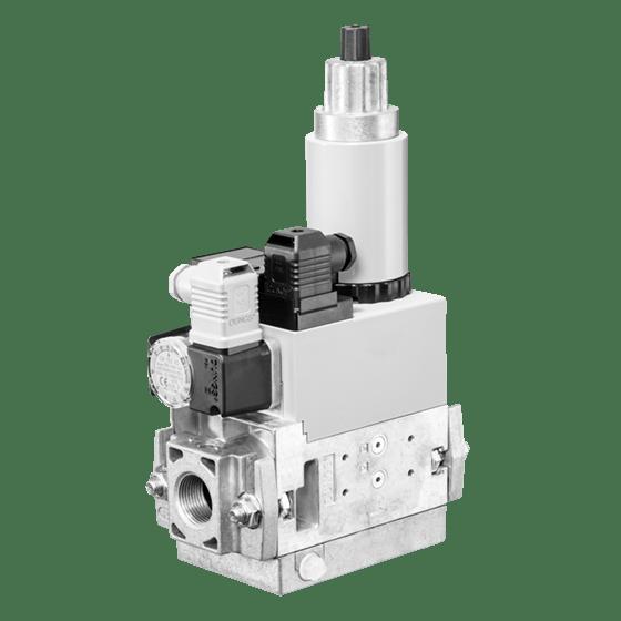 MB-ZRD (LE) 405-412 B01: GasMultiBloc® (газовий мультиблок), модуль регулювання і безпеки, двоступеневий режим експлуатації