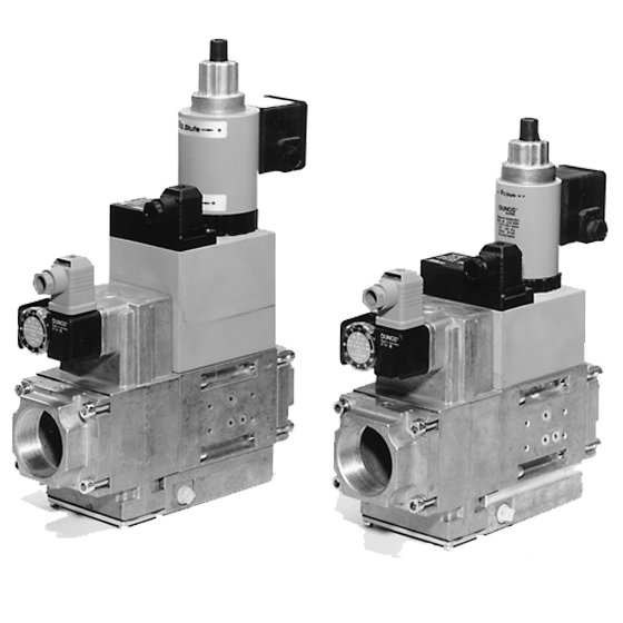 MB-ZRD (LE) 415-420 B01: GasMultiBloc® (газовий мультиблок), модуль регулювання і безпеки, двоступеневий режим експлуатації - Фото №1