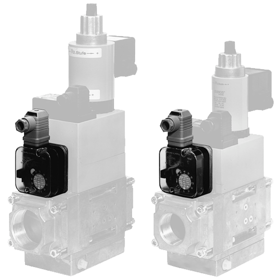 ÜB, NB A2: Ограничитель давления для комбинированных исполнительных приборов - Фото №1