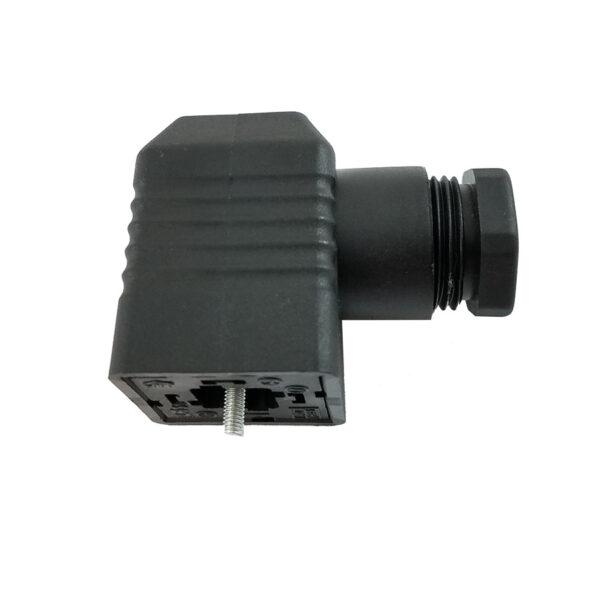 Штекер електропідключення клапанів і мультиблоків