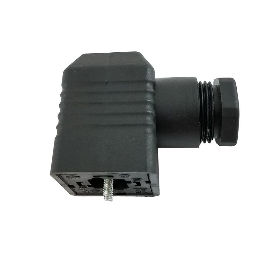Штекер електропідключення клапанів і мультиблоків - Фото №1