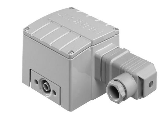 LGW, A4/2: Диференціальний датчик-реле тиску повітря, димових і відпрацьованих газів. Датчик-реле надлишкового тиску газу - Фото №1
