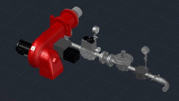 Комбінований пальник GL9/1-D ZMD-1SF