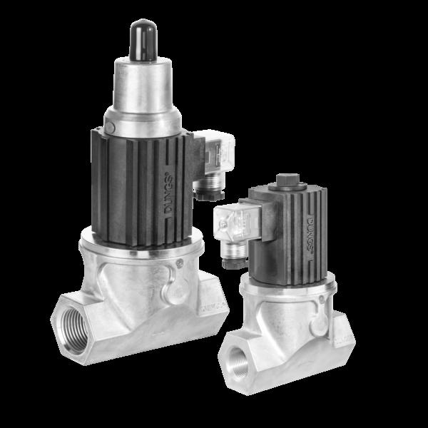 GSV-DLE 207: Електромагнітний газовий запобіжний клапан