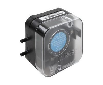 LGW A2: Диференціальний датчик-реле тиску повітря, димових і відпрацьованих газів - Фото №1