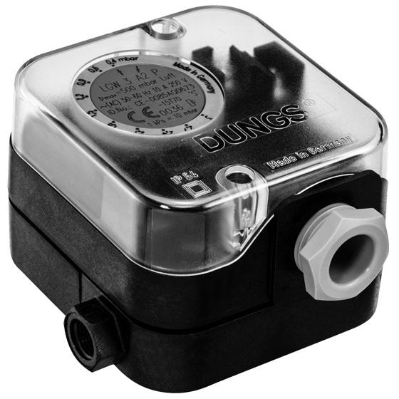 LGW A2P: Диференціальний датчик-реле тиску повітря, димових і відпрацьованих газів