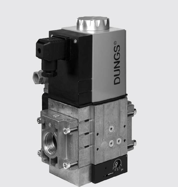 MBC-SE: GasMultiBloc® (газовий мультиблок) Rp 1/2 – Rp 2, модуль регулювання і безпеки, серворегулятор тиску - Фото №1